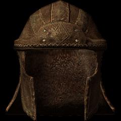 Studded Leather Helmet
